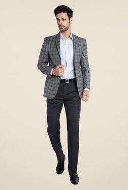 Park Avenue Grey Checks Blazer