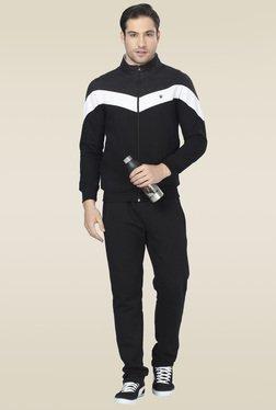 Sweet Dreams Black Full Sleeves Regular Fit Pyjama Set