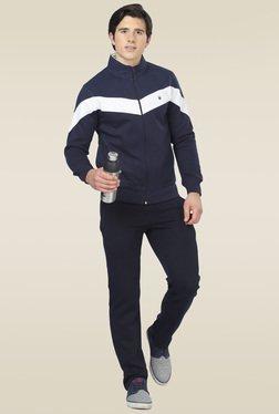 Sweet Dreams Navy Full Sleeves Regular Fit Pyjama Set