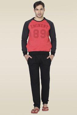 Sweet Dreams Red Full Sleeves Regular Fit Pyjama Set