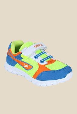 b333c71c68feb Lilliput Kids Green and Blue Sneakers