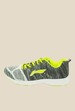 Li-Ning Grey & Lime Green Running Shoes