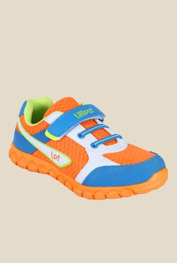 Lilliput Orange And Blue Sneakers