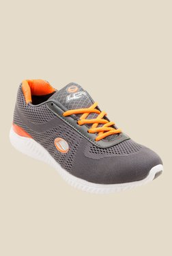 Lancer Pewter & Orange Running Shoes