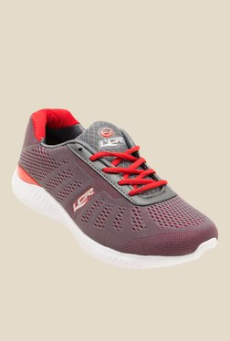 Lancer Grey & Red Running Shoes