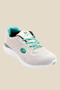 Lancer Light Beige & Turquoise Running Shoes