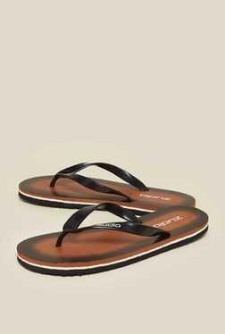 Zudio Brown Thong Flip Flops