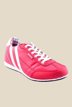 Escan Red & White Running Shoes