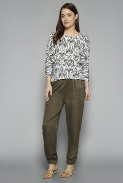 LOV By Westside Olive Jennifer Pants