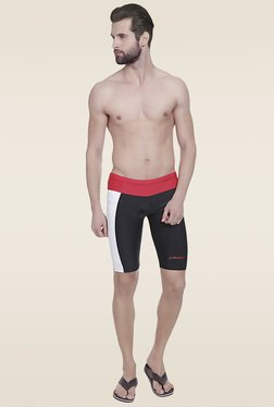 Lobster Black & Red Casual Trunks