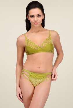 Urbaano Green Full Coverage Bikini