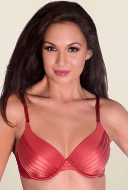 Amante Red Padded Bra - Mp000000001003389