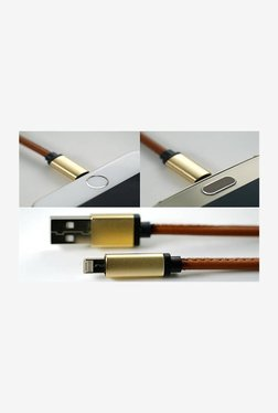 Novel Mobile_Acc Data Cable For IOS & Android (Brown)