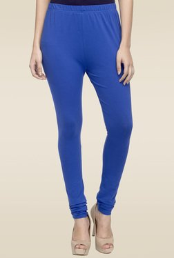 Elini Royal Blue Regular Fit Leggings