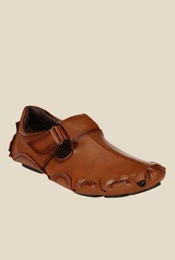 Afrojack Dark Tan Fisherman Sandals