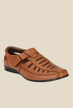 Afrojack Tan Casual Sandals
