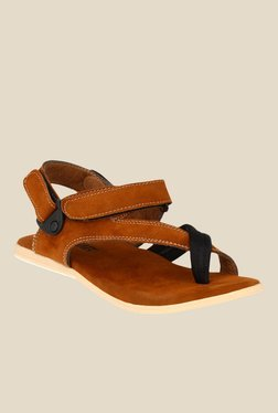 Afrojack Brown Back Strap Sandals
