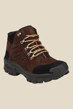 Afrojack Himalaya Powerhouse Dark Brown Outdoor Shoes