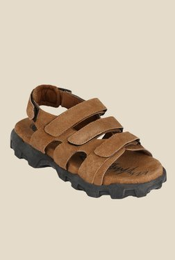Afrojack Tan Floater Sandals