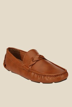 Afrojack Tan Formal Loafers
