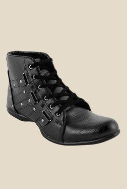 Shoe Sense Classic Black Casual Boots