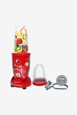 Wonderchef Nutri-blend 400 W Blender With Free Peeler (Red)