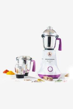 Wonderchef Victor Premium 750W Mixer Grinder (White/Purple)
