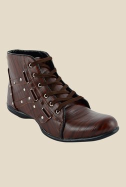 Shoe Sense Classic Brown Casual Boots