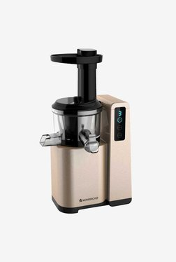 Wonderchef Cold Press Slow 1L Digital Juicer (Gold)