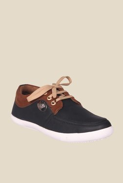 Molessi Black & Brown Casual Shoes