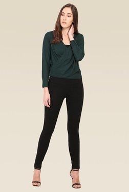 Saiesta Green Full Sleeves Top