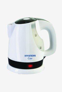 Hyundai Czar HKC10C3P-DBH 1 L Electric Kettle (White)