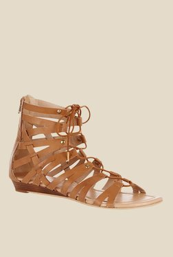 Oasis Giselle Tan Gladiator Sandals