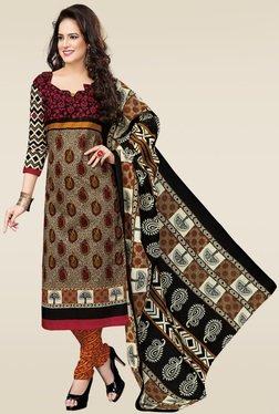 Salwar Studio Multicolor Dress Material With Dupatta