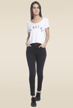 Vero Moda White Round Neck T-Shirt
