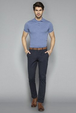 Ascot by Westside Navy Slim Fit Chinos