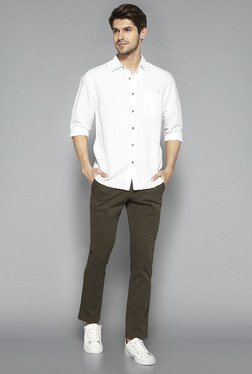 Westsport by Westside Olive Slim Fit Chinos