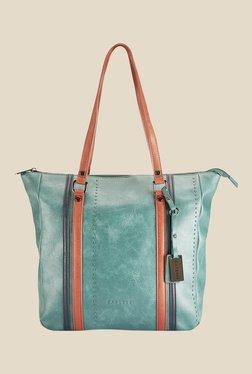 Caprese Sharon Green Solid Shoulder Bag