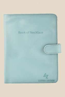 Leather Zentrum Aqua Leather Solid Book Of Necklace