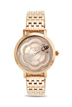 Titan 95050WM01J Valentine 2017 Analog Watch for Women