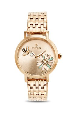 Titan 95050WM02J Valentine 2017 Analog Watch for Women