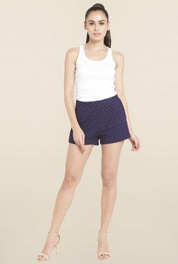 Globus Navy Lace Shorts