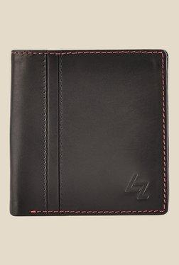 discount mens designer wallets kg0l  Leather Zentrum New Currency Black Leather Wallet