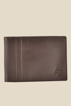 Leather Effect New Currency Brown Solid Wallet - Mp000000001059887