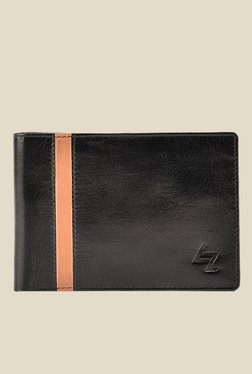 Leather Effect New Currency Black Solid Wallet - Mp000000001059893