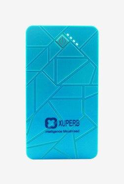 Xuperb Polymer Slate-100 10000 MAh Power Bank (Blue/Red)