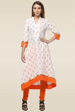 Homa Off White Regular Fit Kurta