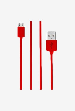 ShutterBugs SB-98 Round USB Cable (Red)
