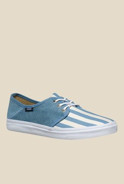 Vans Tazie SF Light Blue & White Sneakers