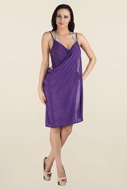 N-Gal Purple Solid Sarong
